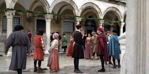 Mieszkańcy Dubrownika. Kadr z serialu dokumentalnego The Republic - a history of Dubrovnik chorwackiej telewizji HRT.