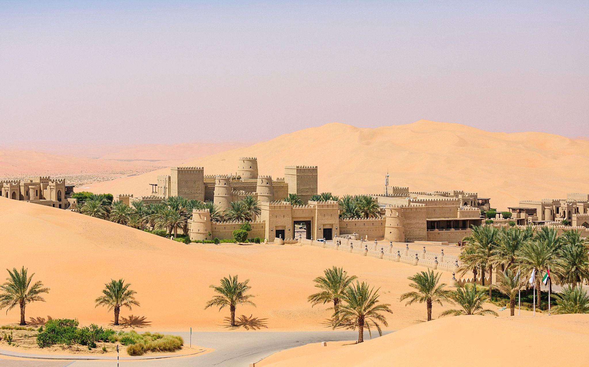 Hotel Qasr al Sarab.