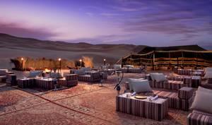 Restauracja pod gwiazdami Al Fajal
