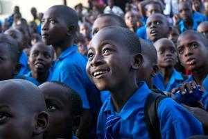Afrykańskie dzieci.