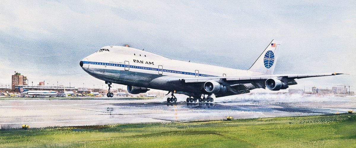 Boeing 747 Jumbo Jut linii Pan Am. Źródło: Pan Am Historical Foundation/  www.panam.org