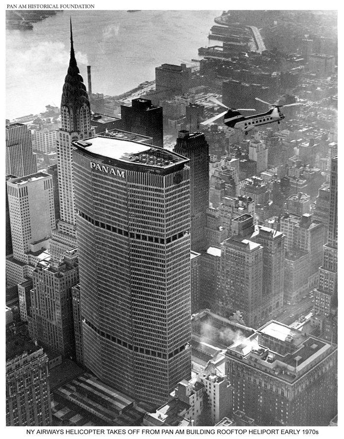 Pan Am Building. Źródło: Pan Am Historical Foundation/  www.panam.org