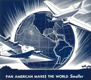 Broszura reklamowa Pan Am z 1937r. Źródło: www.timetableimages.com