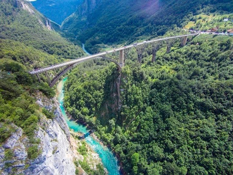 Most nad rzeką Tara. Źródło: Montenegro Travel