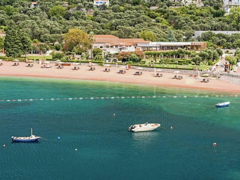 Hotelowa plaża Sveti Stefan