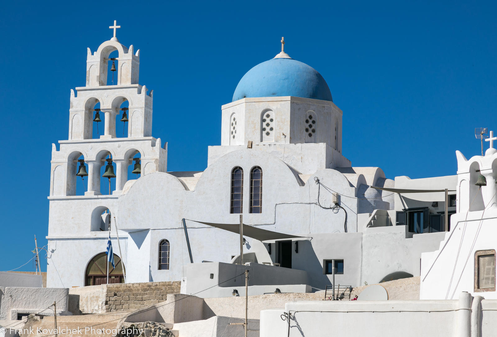 Kościół w Pyrgos, Santorini