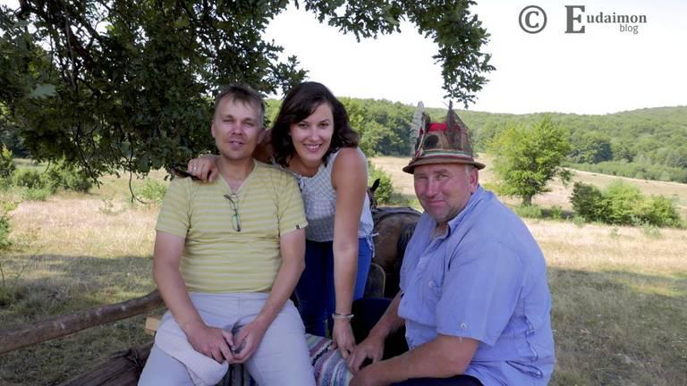 Zadowoleni turyści i nasz woźnica/przewodnik © Eudaimon blog