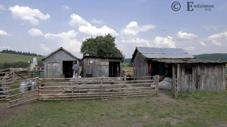 Pasterski obóz w górach © Eudaimon blog