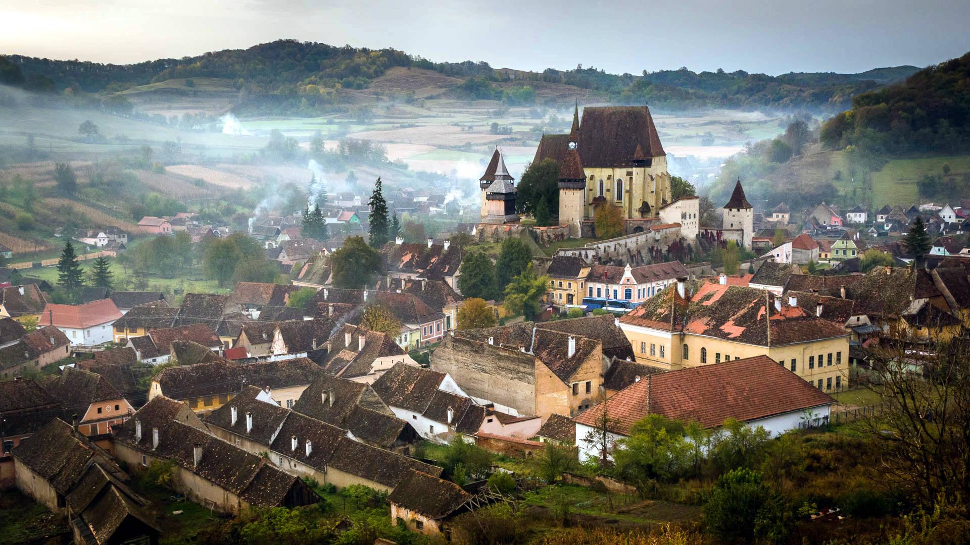 Biertan w Transylwanii. Daniel Rosca/ Wikimedia Commons. CC BY 3.0.