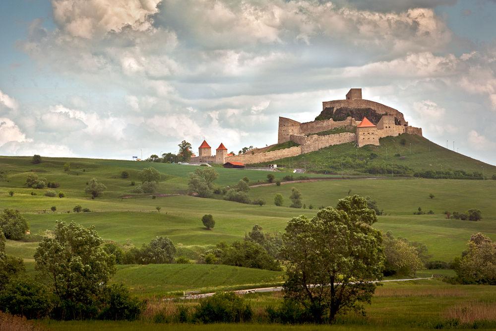 Zamek w Rupea. Diana Popescu, CC BY-SA 3.0 RO