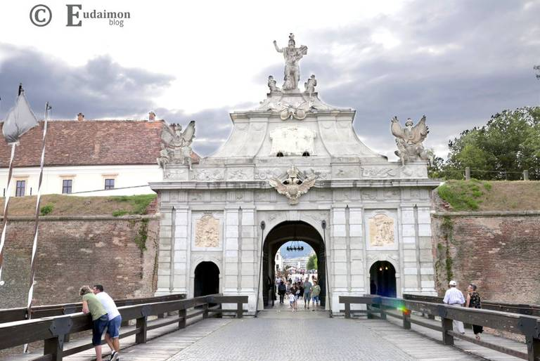 Najładniejsza, wschodnia brama Cytadeli © Eudaimon blog