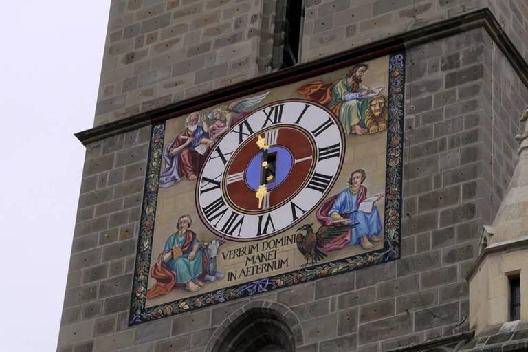 Wieża zegarowa Czarnego Kościoła © Eudaimon blog