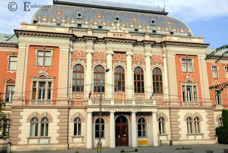Eklektyczny budenek Pałacu Sprawiedliwości (zachodnia fasada) z 1902r. © Eudaimon blog