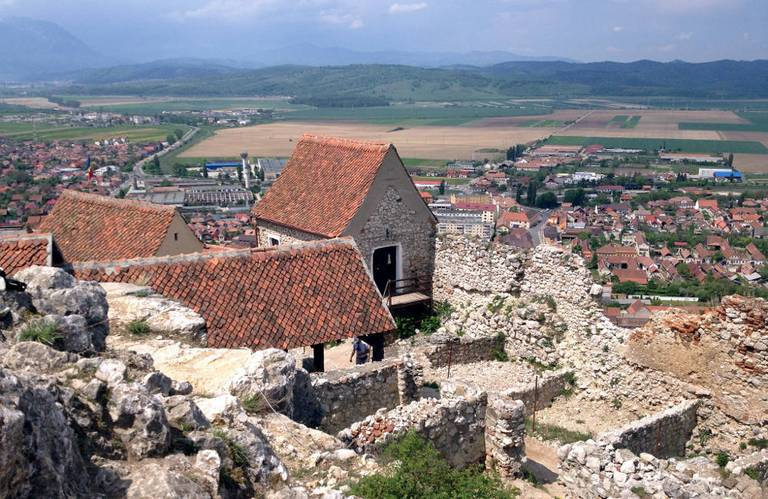 Zamek chłopski w Râșnov. georgemoga/ flickr, CC BY-NC 2.0