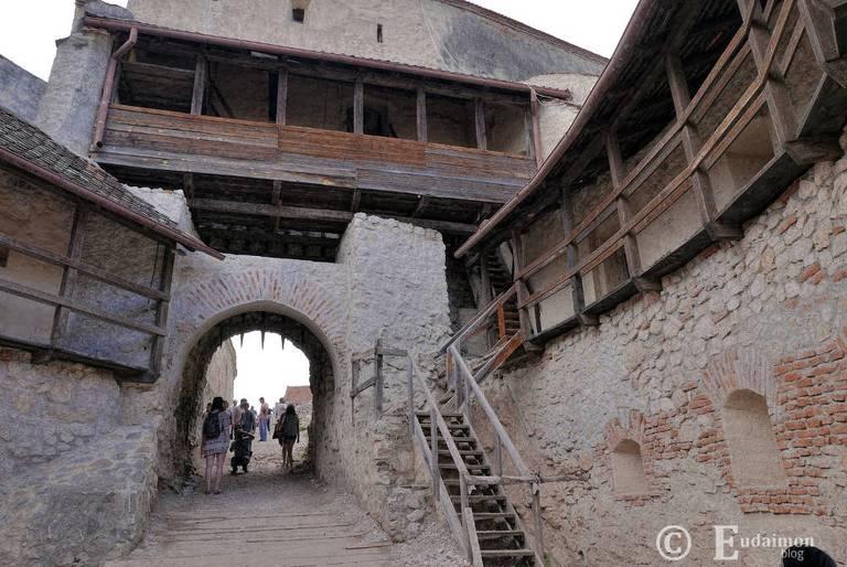 Zamek chłopski w Râșnov © Eudaimon blog