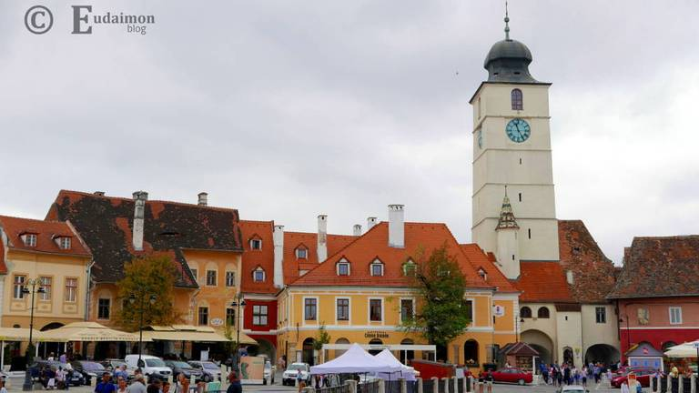 Mały Rynek z Wieżą Ratuszową © Eudaimon blog