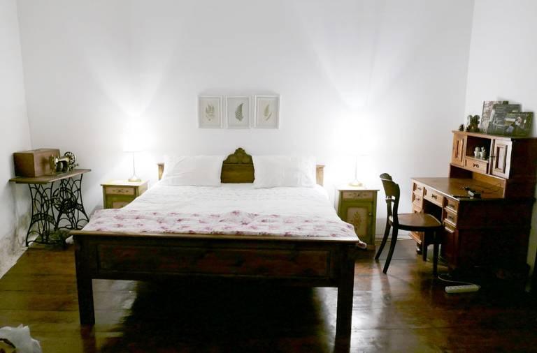 Nasz pokój w pensjonacie Felinarul Residence na starówce © Eudaimon blog