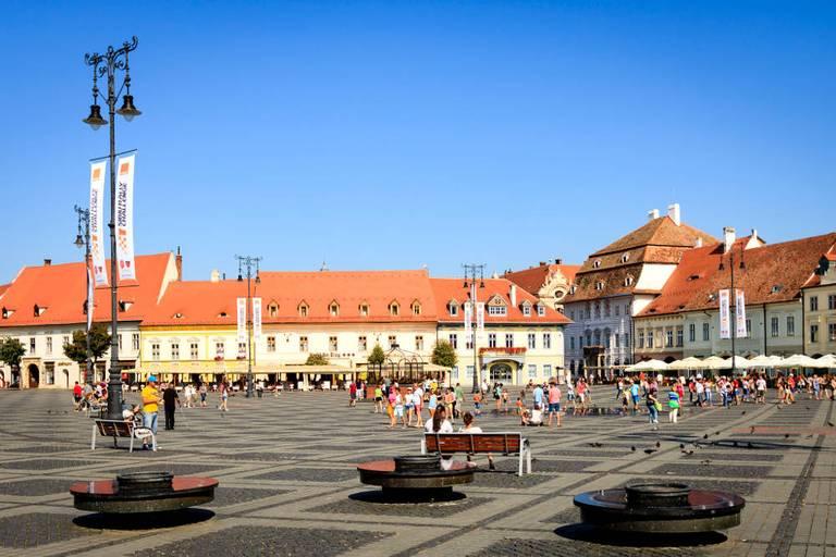 Główny Rynek (Piața Mare). georgemoga/ flickr, CC BY-NC 2.0