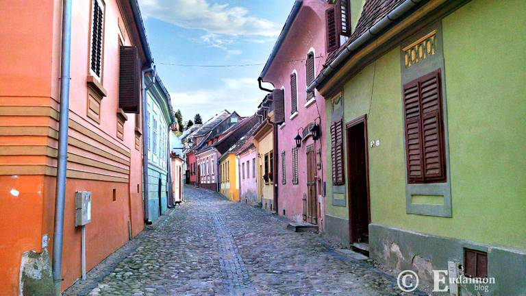 Sighisoara - Górne Miasto © Eudaimon blog