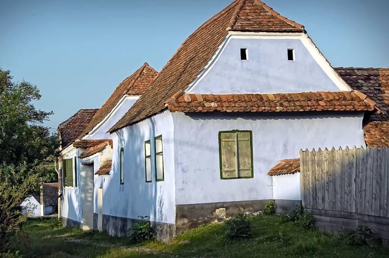 Tradycyjny dom. Źródło: zalan.transylvaniancastle.com