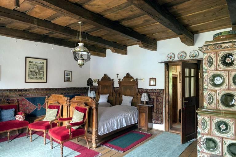 Pokój księcia Karola. Zalanpatak. Źródło: zalan.transylvaniancastle.com